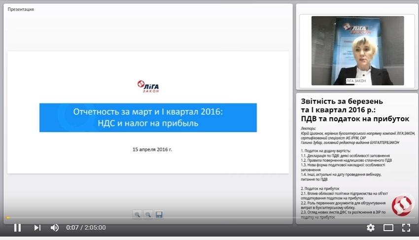 Звітність за березень та I квартал 2016 р.: ПДВ та податок на прибуток